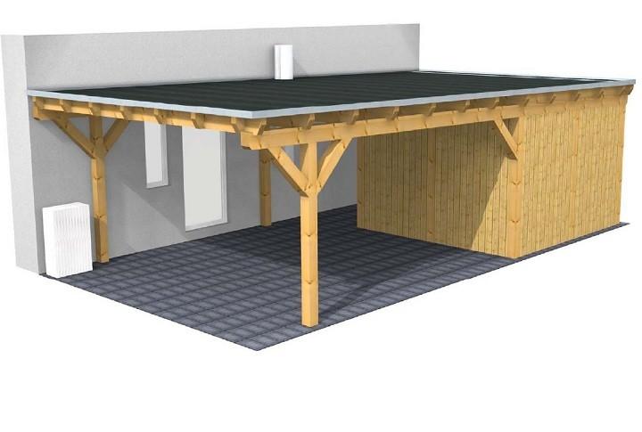 Flachdach Carport Individuell Amp Preiswert Hier Planen Mit 3D Premium Carportwerk