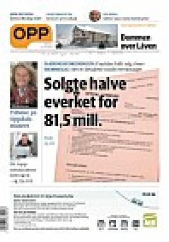 Faksimile av avisen som utløste bråket