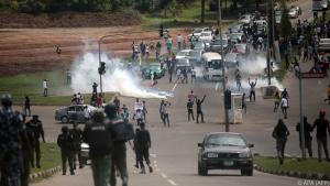Violent protests in Nigeria