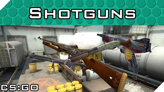 CS:GO: Hướng dẫn thông tin chi tiết các mẫu Shotgun và LMG mạnh nhất trong game