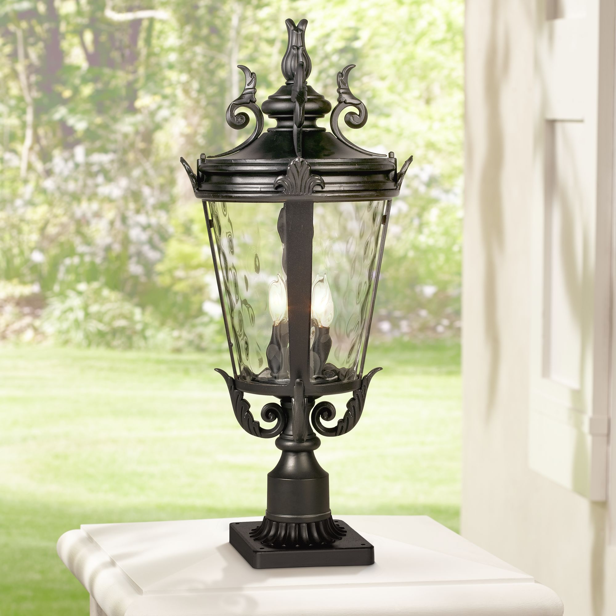 Outdoor Post Lights Lamp Post Light Fixtures Lamps Plus