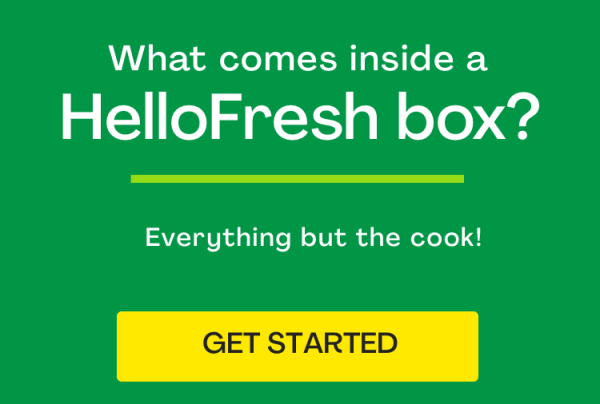 What comes in a HelloFresh box?