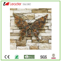 China Metal Butterfly Decoration  Metal Butterfly Decoration     2018 New Metal Rustic Butterfly Wall Decor for Home and Garden Decoration