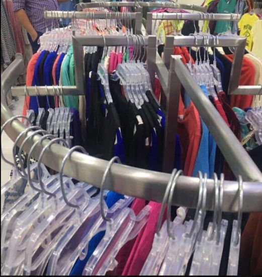 way arm round garment rack