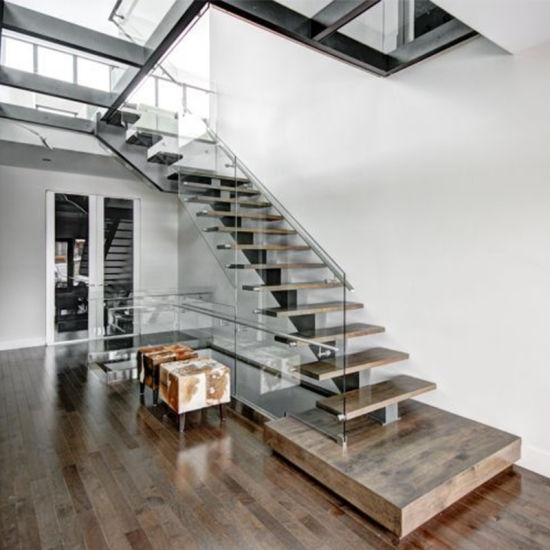 Straight Stainless Steel Spigot Glass Timber Staircase Indoor   Outdoor Timber Stairs Design   Pinterest   Outside Entrance Stair   Basic Outdoor   Different Style   Rustic Timber