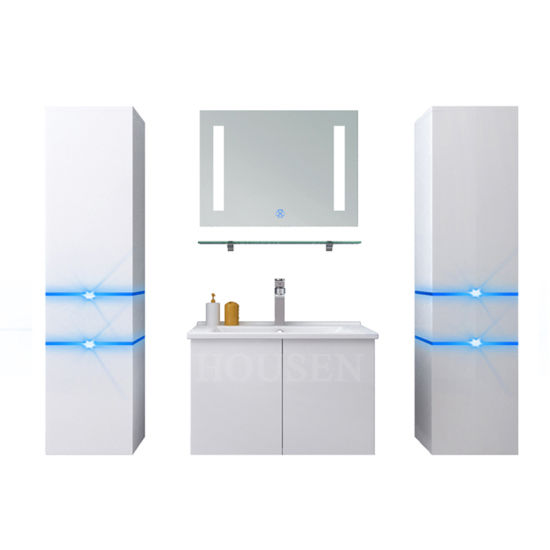 China Luxury Wooden Waterproof Bathroom Mirror Cabinet With Best Price China Bathroom Vanities Bathroom Cabinets