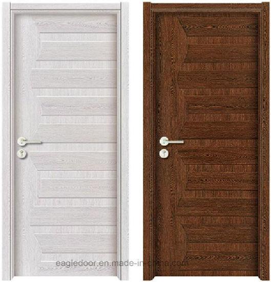 China Simple Designs Modern White Wood Door Design ...