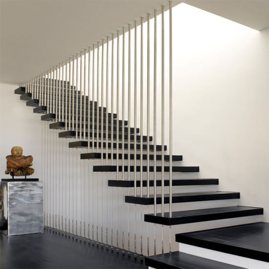China Indoor Simple Staircase Design With Double Side Wall | Staircase Side Wall Design | Farmhouse | Ladder | Bookshelf | Small Space | Beautiful