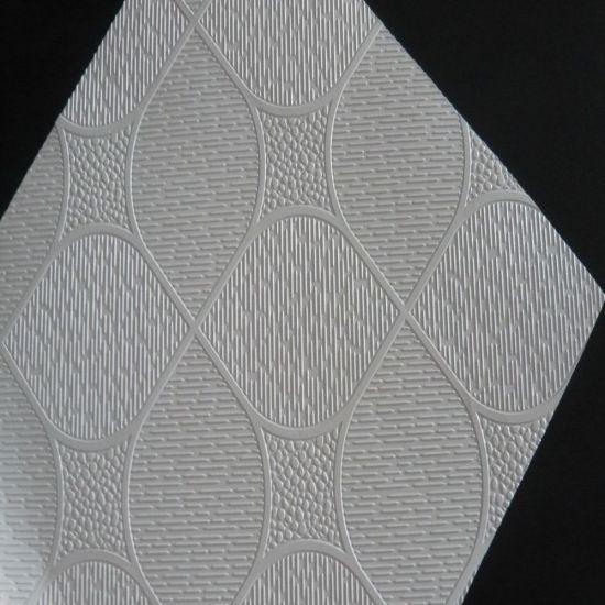 595x595mm pvc laminated gypsum ceiling tiles no 238