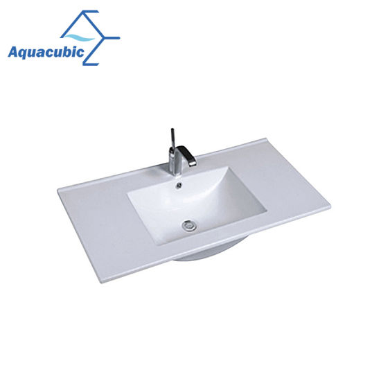 china one piece bathroom basin and