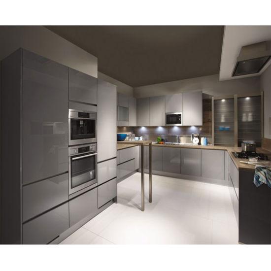 China White Fully Assembled Kitchen Pantry Cupboards China Kitchen Cabinets Kitchen Furniture