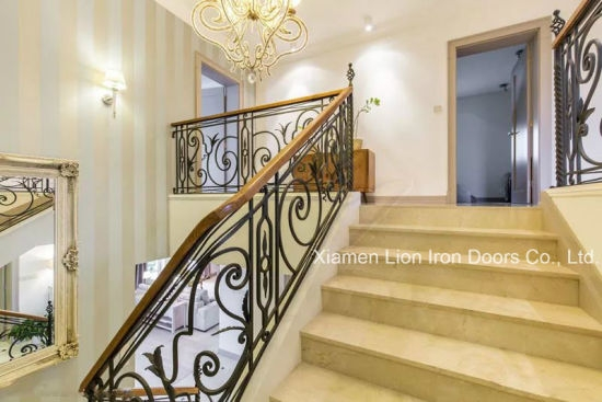 China Exterior Handrail Lowes Wrought Iron Railing Stair Railing | Lowes Metal Stair Railing | Lowes Com | Aluminum Railing | Composite Deck Stair | Handrail Kit | Wood