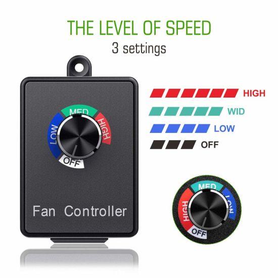 350w electronic fan speed controller