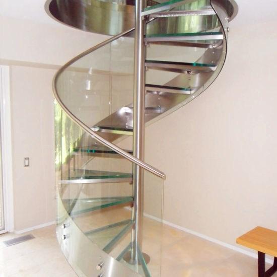 Custom Exterior Metal Wooden Spiral Staircase China Metal Spiral | Exterior Metal Spiral Staircase | Rustic Metal | Deck | Crystal Handrail | Bar Modern | Railing