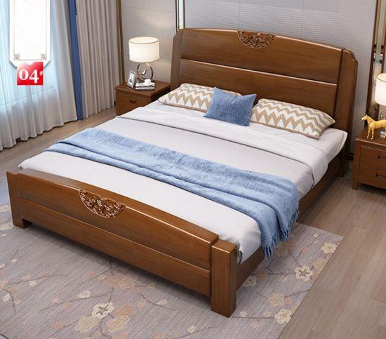 solid wood bed oak bedroom furniture
