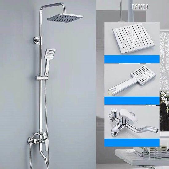 best discount bathroom modern brass upc tub shower faucet