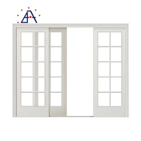 china 96 x 80 sliding glass doors sound