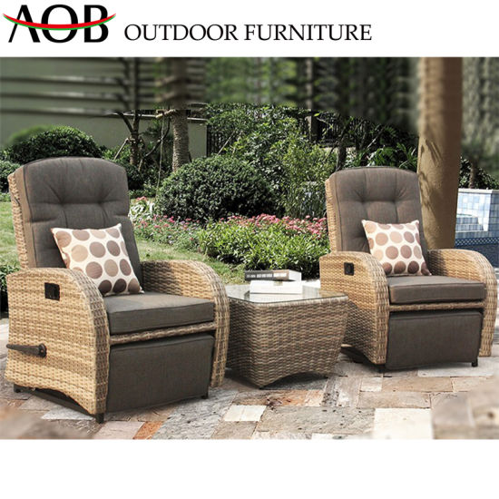 china outdoor lounge furniture rattan