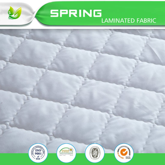 Soft Waterproof Mattress Cover White Box Quilted Protector