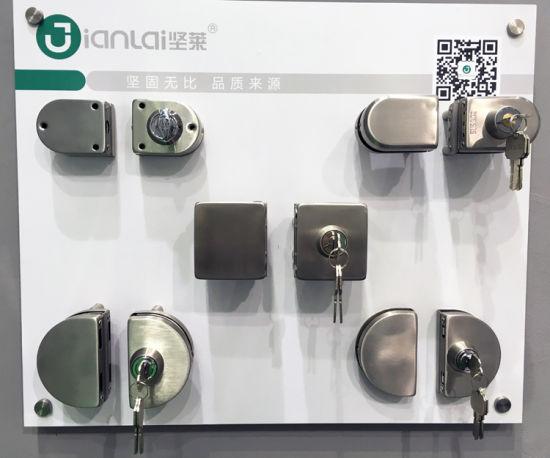 glass door hardware locks