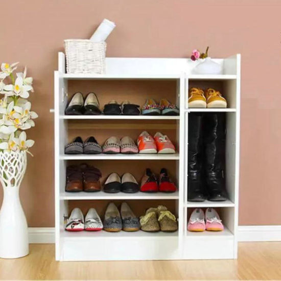 china shoe cabinet with glass door
