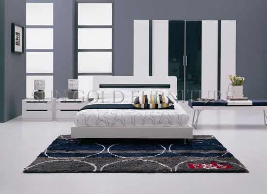 china modern wooden bedroom furniture
