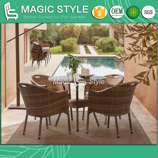 Patio Dining Set With Cushion Outdoor Dining Chair Garden Coffee Table Rattan Wicker Chair Club Wicker Chair Angus Dining Set Furniture China Outdoor Furniture Wicker Furniture Made In China Com
