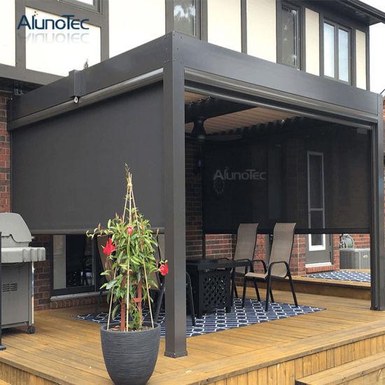 china patio sun shade motorized outdoor
