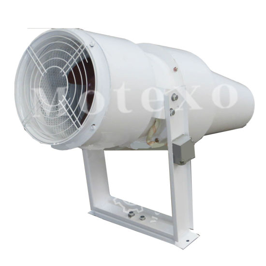 parking garage ventilation systems extract jet fan