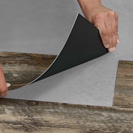 waterproof scratch resistant dry back glue down luxury vinyl tile lvt