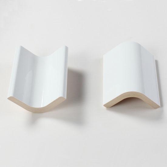 white ceramic tile bull nose for bathroom