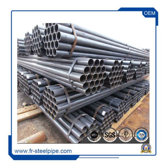China ASTM A53 B ERW Black Steel Pipe High Quality ERW Steel Pipes     ASTM A53 B ERW Black Steel Pipe High Quality ERW Steel Pipes for  Construction  Schedule 40 Carbon ERW Steel Pipe  Boiler Tube