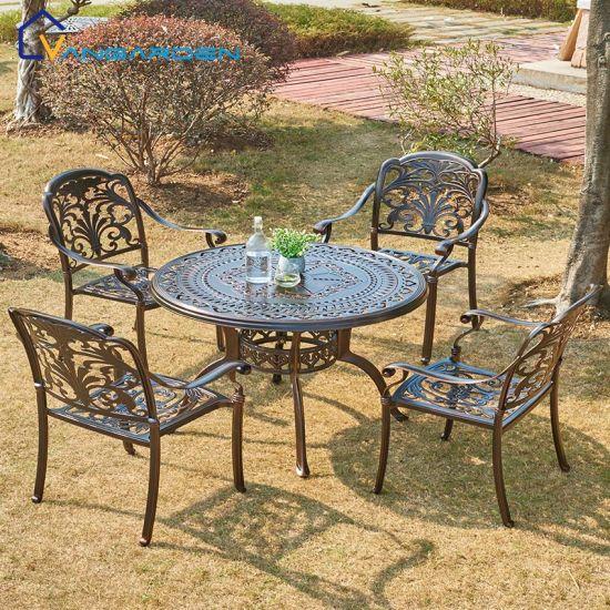 weatherproof outdoor dining table set
