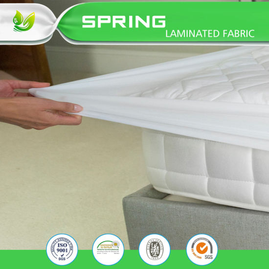 Hot Ing Terry Cloth Small Double Bed Mattress Protector Waterproof