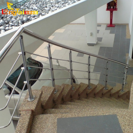 China Stainless Steel Handrail Balusters Flat Bar Rod Balustrade | Stainless Steel Handrails Near Me | Metal | Cable Railing | Glass Railing Systems | Relaxdays Stainless | Staircase Railing