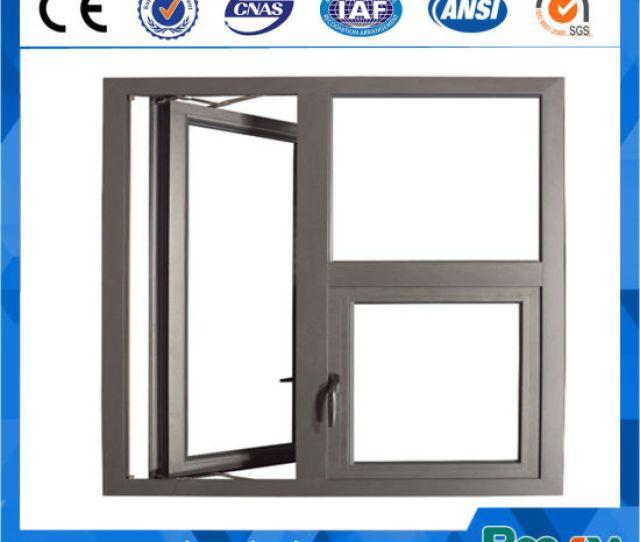 Rocky New Design Aluminium Casement Window For Philippines