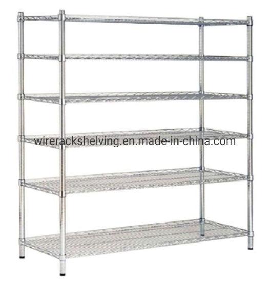 china 72 x48 x18 6 tier layer shelf