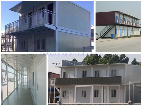 China Prefab Apartments House Finished