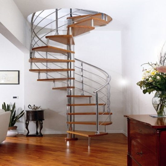 China Box Oak Staircase Price Wood Stairs Steps External Stairs | Oak Steps For Stairs | Wood Floor | Iron Baluster | Rounded | Stained | Closed Tread