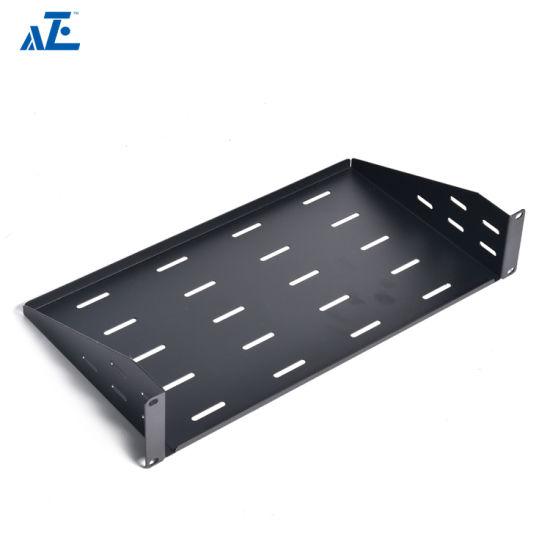 china 1u cantilever fixed shelf 10 inch