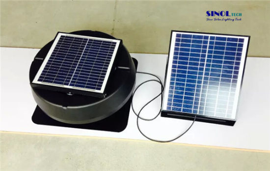 china roof mount solar exhaust fan with