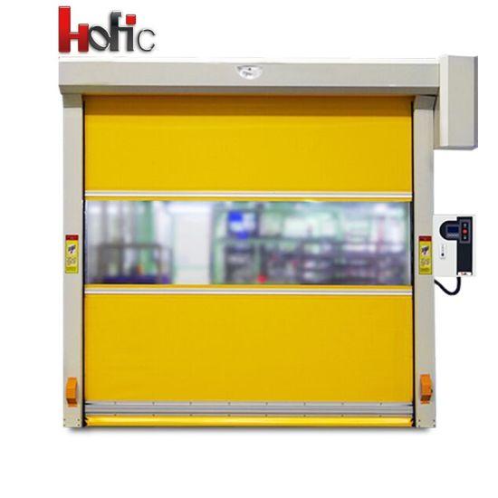 pvc fast curtain high speed roller shutter industrial rapid door