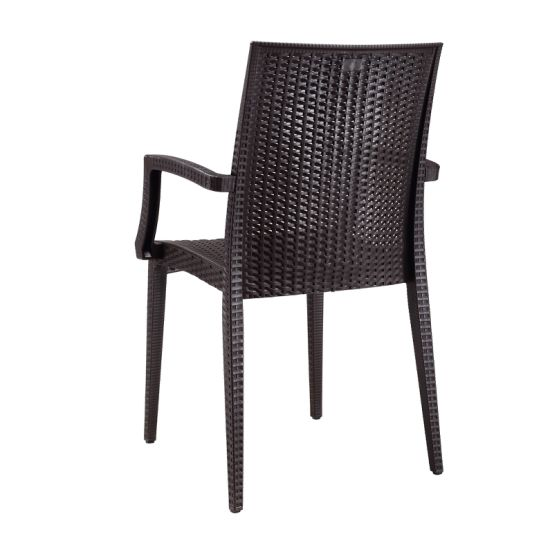 france leisure outback plastic wicker rattan outdoor garden patio art furniture chairs and table set for sale