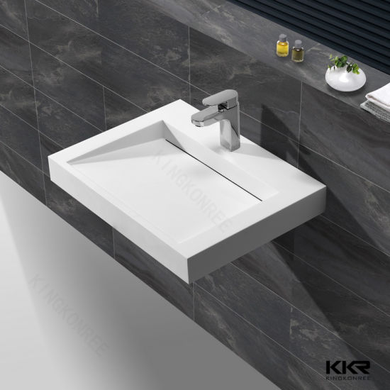 china top-rated in eu and us wall hung bathroom sink vanity top wash