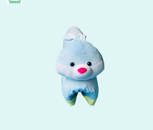Pure  Natural Latex Doll Pillow For Children