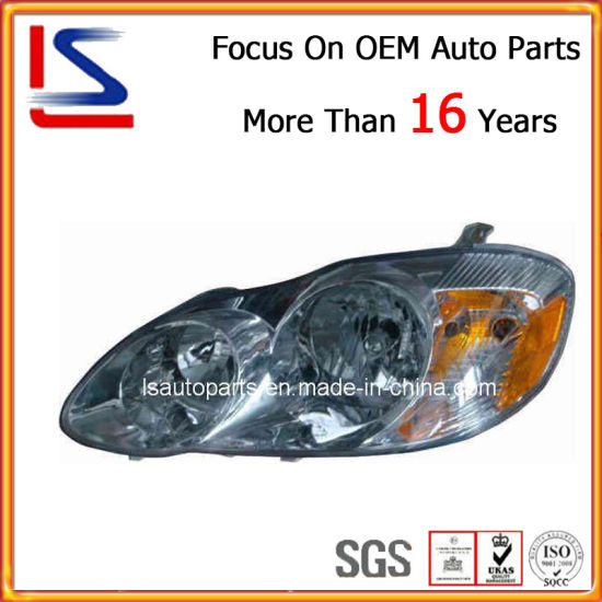 China Auto Spare Parts Head Lamp For