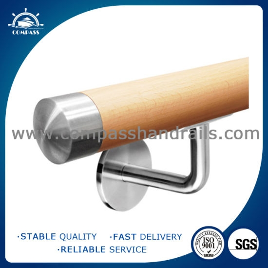 China Wood Fitting End Cap Handrail Fitting Railing China | Wood Handrail End Caps | Brass Handrail | Side | Scroll | Attached Wall | Lamb