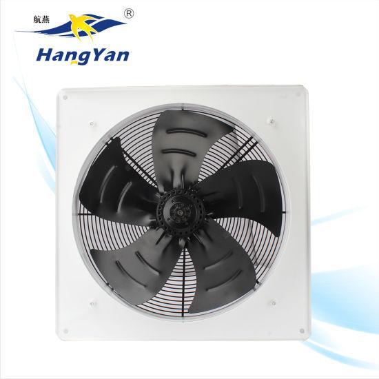 square axial motor 8 inch wall bathroom window exhaust fan