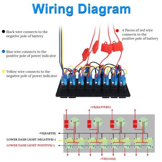 marine cigarette lighter schematic wiring diagram