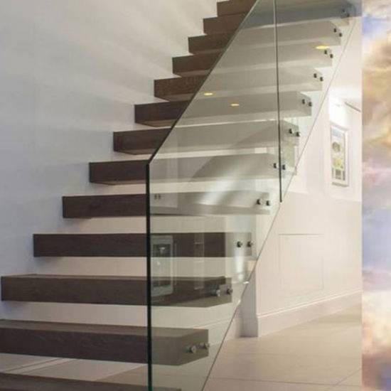China 2020 Thailand Oak Wood Tread Modern Staircase Floating | Oak Stair Treads For Sale | Hardwood Lumber | Risers | Wood Stair | Stair Parts | Wood